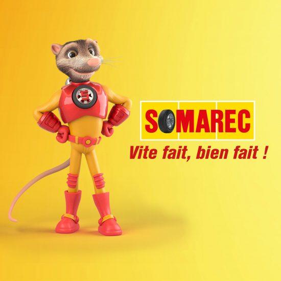 Portfolio SOMAREC réalisation havas c'direct Agence Conseil Communication Publicité Développement Web