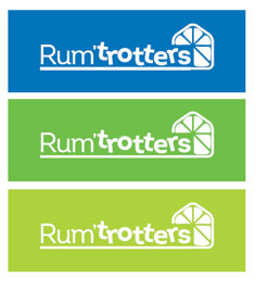 Rumtrotters Logos Declinaisons