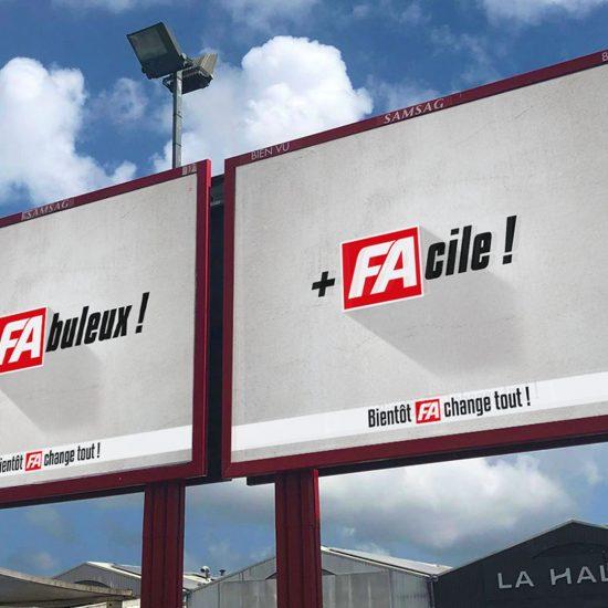 Portfolio France-Antilles 2019 réalisation havas c'direct Agence Conseil Communication Publicité Développement Web